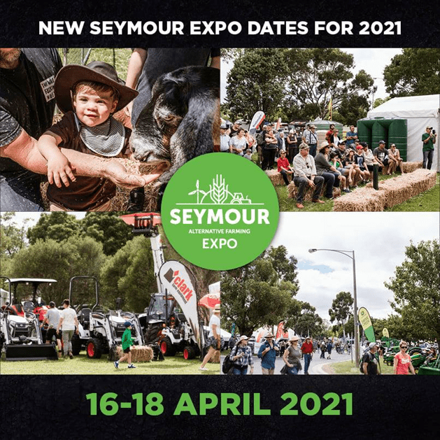 Seymour Expo Dates Poster 2021
