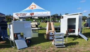 Edd's Moveable Chook Sheds Field Day Exhibition