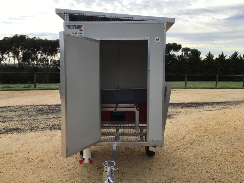Portable chicken trailers Victoria